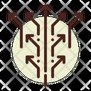 Spread Arrows Icon