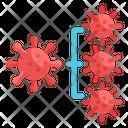 Spread Coronavirus Icon
