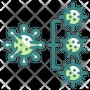 Spread Coronavirus Spread Virus Spread Icon