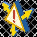 Spread Risk Warning Possibilites Risking Way Icon