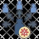 Disease Virus Transmission Icon
