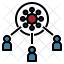 Spread Transmission Virus Icon