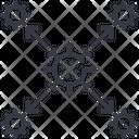 Virus Infection Spread Icon