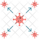 Virus Infection Spread Icon