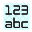 Data Format Number Icon