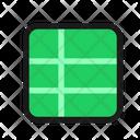 Spreadsheet Sheet Table Icon