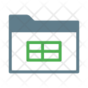 Spreadsheet Table Data Icon