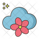 Spring Cloud Flower Icon