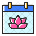 Spring Beautiful Plant Icon