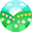 Spring Nature Background Icon