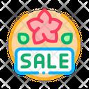 Spring Holidays Sale Icon