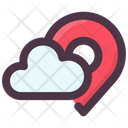 Groundhog Day Spring Location Cloudy Location Icon