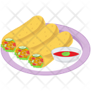 Spring Roll Platter Icon