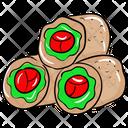 Spring Rolls Icon