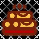 Spring Rolls Dish Asian Icon