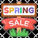 Spring Sale Sign Sale Board Sale Roadboard Icon