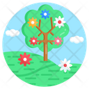Spring Tree Icon