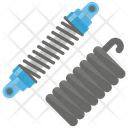 Springs Flexible Spring Spiral Icon