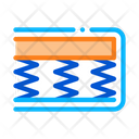 Mattress Soft Bedding Icon