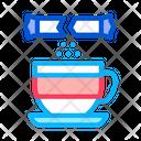 Sprinkle Sugar Cup Icon