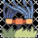 Sprinkler Lawn Garden Icon