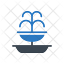 Sprinkler Outfall Decoration Icon