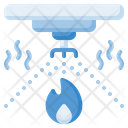 Sprinkler Shower Water Icon
