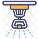 Sprinkler Water Sprinkle Fire Protection Icon