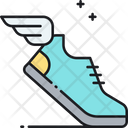 Sprint Footwear Shoes Icon