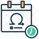 Sprint Review Milestones Planning Icon