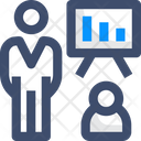 Sprint Review Meeting Icon