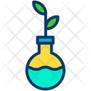 Conical Flask Research Genetic Research Icon