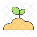 Sprout Plant Grass Icon