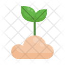 Sprout Growth Eco Icon