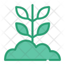 Sprout Farm Agriculture Icon