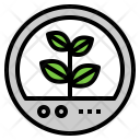 Capsule Plant Sprout Icon