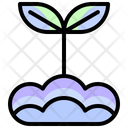 Sprout Plant Gardening Icon