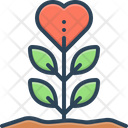 Sprout Grows Plant Icon