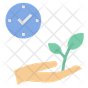 Sprout Growth Time Icon