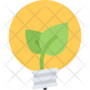Sprout Electricity Ecology Icon