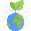 Sprout Planet Ecology Icon