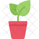 Sprout Pot Ecology Icon