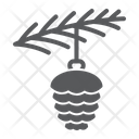 Spruce Cone Toy Icon