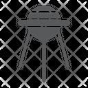 Sputnik Space Shuttle Icon