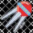 Sputnik Satellite Russian Icon