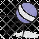 Sputnik Earth Satellite Space Probe Icon