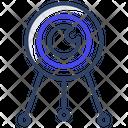Space Capsule Sputnik Astronomy Icon