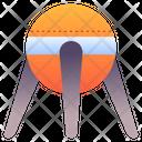 Sputnik Satelite Conection Icon