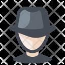 Spy Investigator Detective Icon
