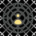 Spy Target Person Icon